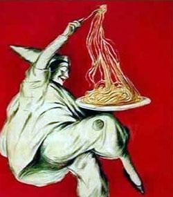 Les spaghettis italiennes