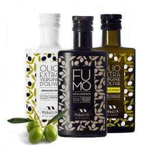 "Huile d'Olive Extra Vierge Dénoyautée ""Muraglia"" 250 ml"